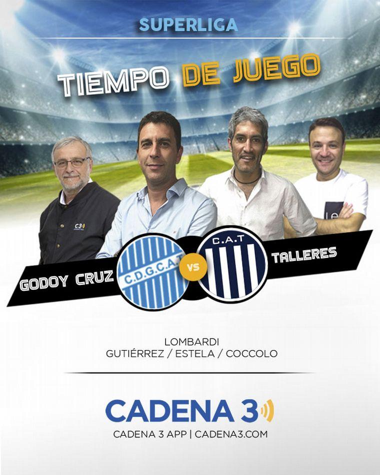 Talleres goleó a Godoy Cruz en Mendoza después de una acción polémica