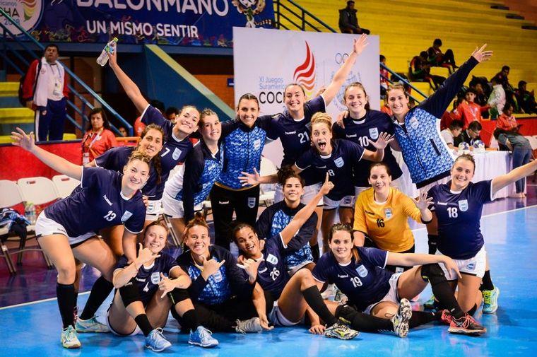 FOTO: La Selección de handball debuta en el Mundial