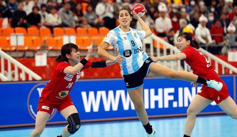 La Garra tuvo su primera victoria en el Mundial de handball