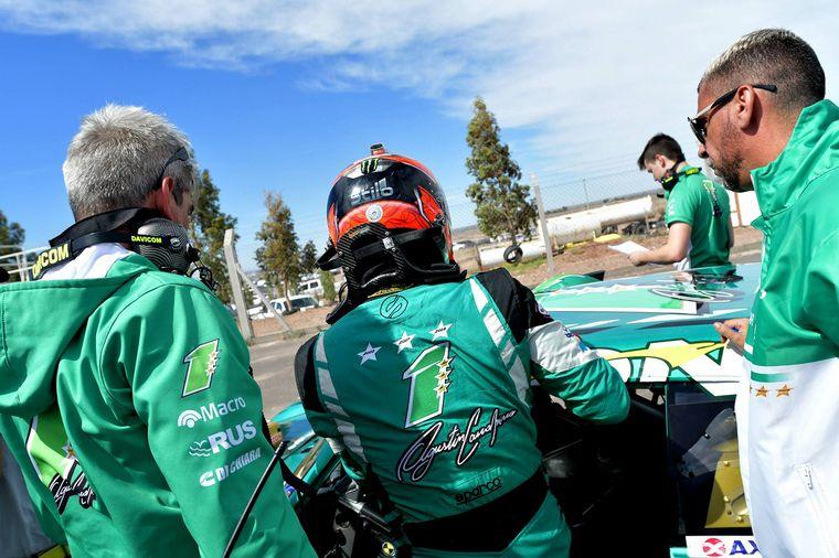 FOTO: La imagen de los ultimos tres años en TC, Canapino y Chevrolet. Gent.ACTC