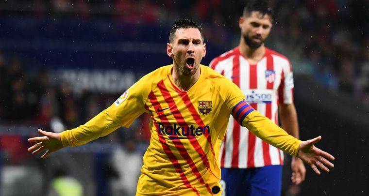 FOTO: Con Messi en llamas, Barcelona ganó a Atlético de Madrid. (Foto: FCBarcelona_es)