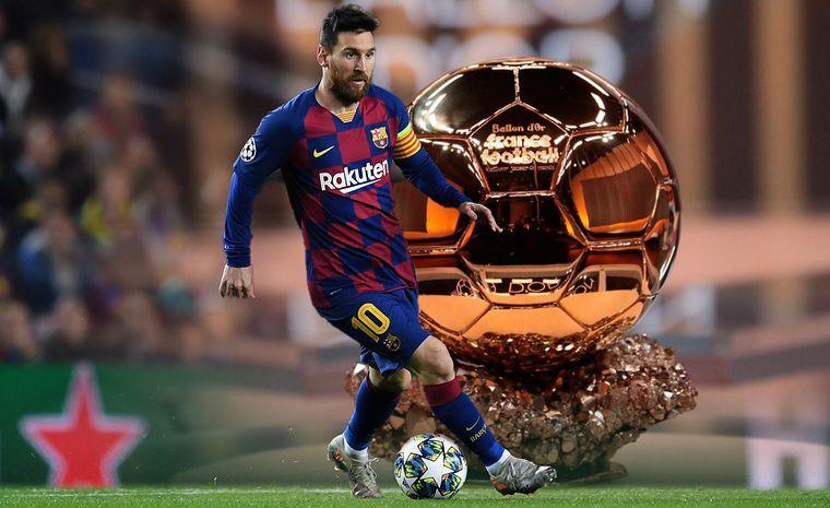 FOTO: Messi, el mejor jugador del mundo.