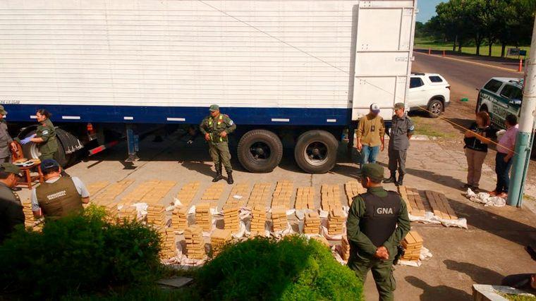AUDIO: Incautan 740 kilos de marihuana con destino a Córdoba
