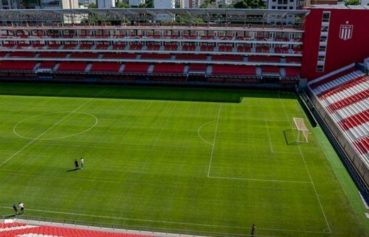 Estudiantes de La Plata denunció un atentado contra su nuevo estadio