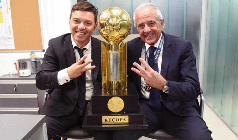 Pdte. de River: 'Muñeco Gallardo se queda, tiene contrato hasta 2021'