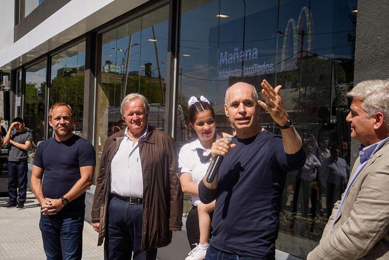 FOTO: El local inaugurado en Villa 31 será operado por una vecina del lugar.