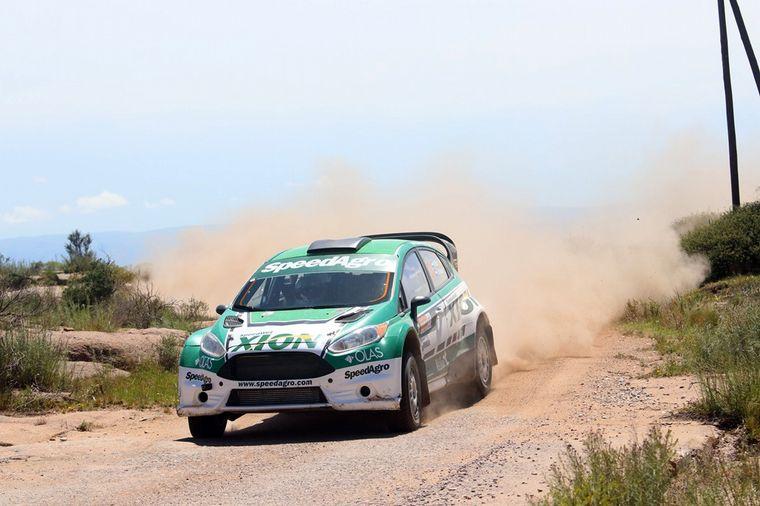 FOTO: Baldoni impuso su ritmo para ser campeón. Gent. Rally Argentino