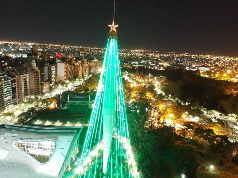 FOTO: encendido de Arbol de Navidad