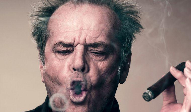 FOTO: Jack Nicholson, irreconocible.