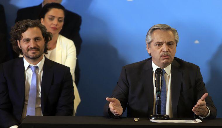 FOTO: Santiago Cafiero, jefe de Gabinete de Alberto Fernández.