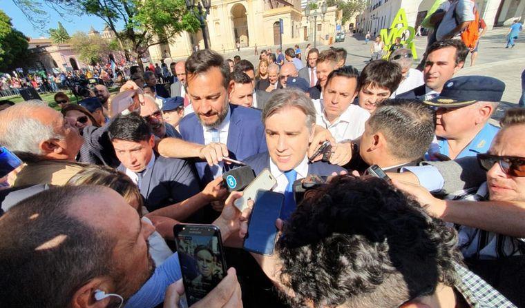 AUDIO: Martín Llaryora tomó juramento y es nuevo intendente de Córdoba