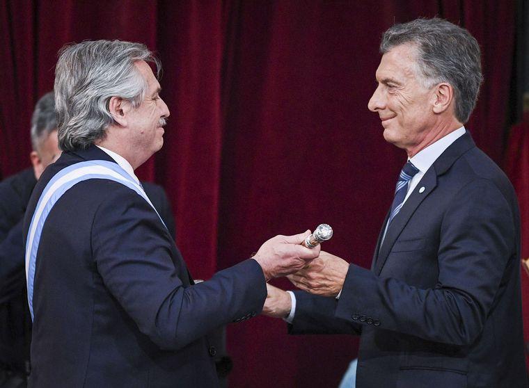 FOTO: Alberto Fernández asumió como presidente de la Nación.