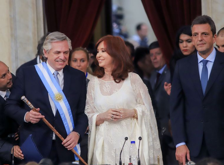 FOTO: Acto de traspaso y asunción del Gobierno nacional.