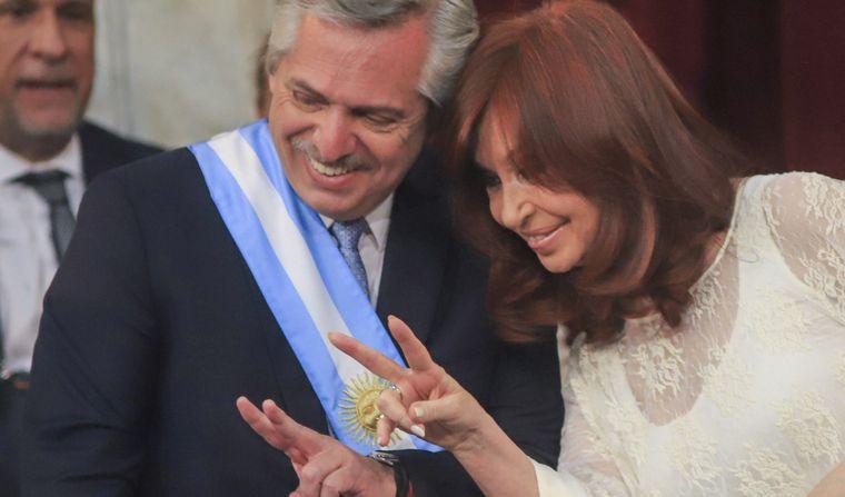FOTO: Cristina y Alberto Fernández