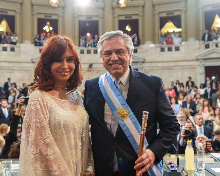 FOTO: Alberto Fernandez en la Rosada
