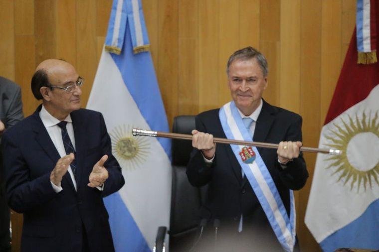 FOTO: El gobernador reelecto de Córdoba Juan Schiaretti