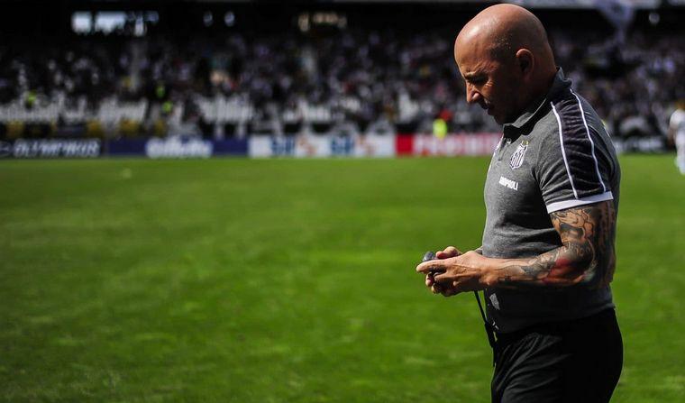 FOTO: Sampaoli renunció al Santos.