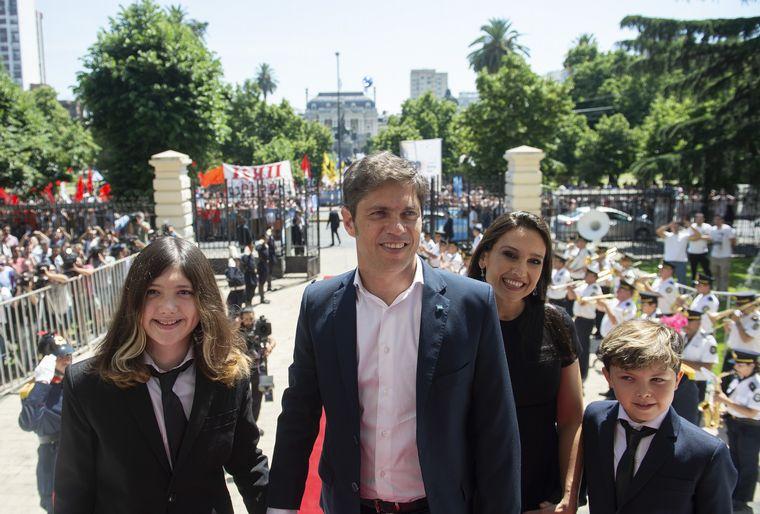 FOTO: Axel Kicillof en su asunción como nuevo gobernador de Buenos Aires.