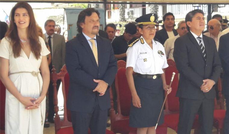 AUDIO: En Salta, asumió la primera Jefa de Policías del país (Por: Elisa Zamora).