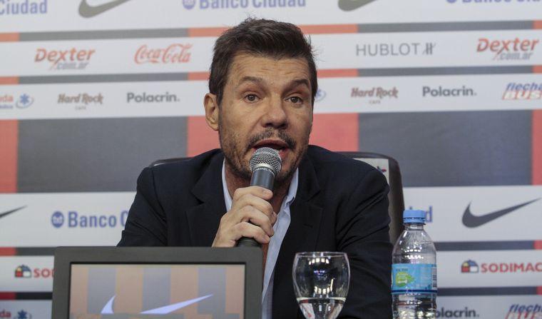 Marcelo Tinelli, elegido presidente