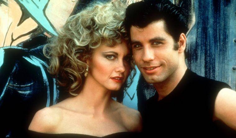 John Travolta y Olivia Newton-John se visten como en Vaselina