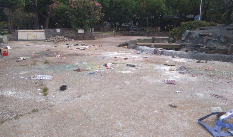 FOTO: Plaza de la Intendencia.