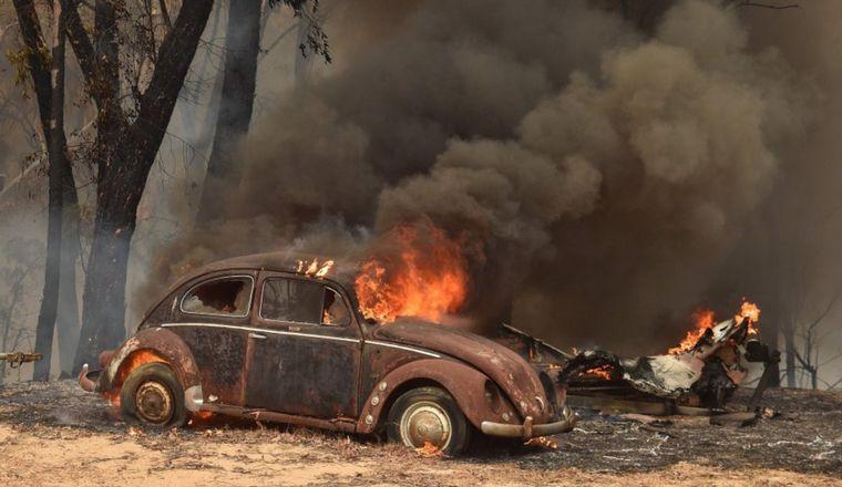 FOTO: El fuego no da tregua en el país oceánico.