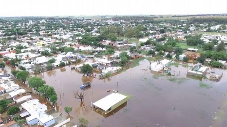 FOTO: Inundaciones en Justiniano Posse