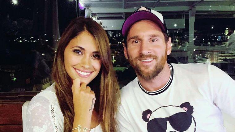 "FOTO: Se agranda la familia Messi con un nuevo ""integrante de cuatro patas""."