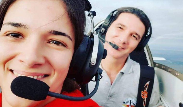 FOTO: Cayó una avioneta en Esperanza: dos muertos.