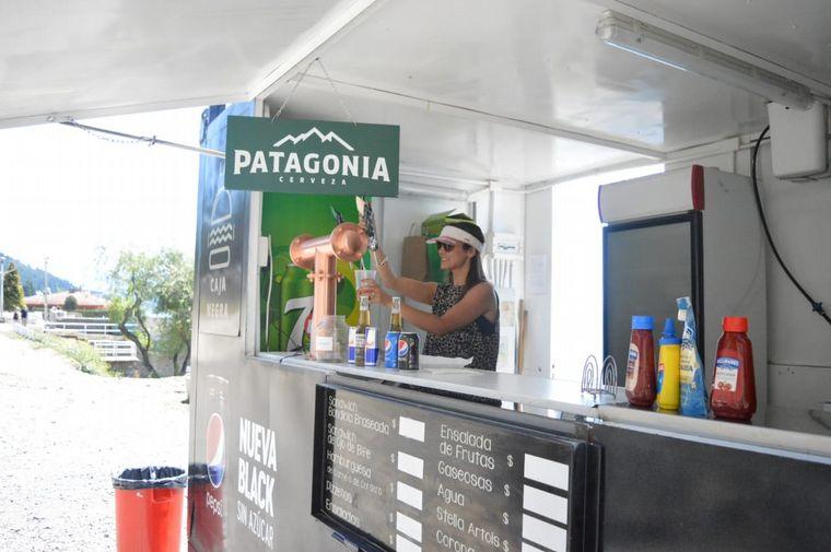 FOTO: La Costanera de Bariloche, ideal para disfrutar del verano en la perla sureña.
