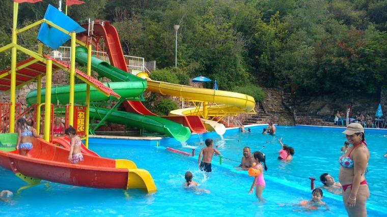 FOTO: Parque acuático del Complejo Aerosilla de Carlos Paz.
