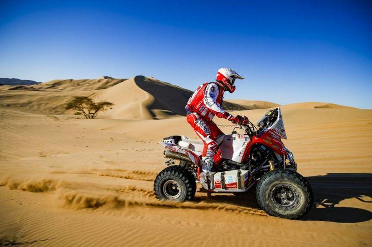 FOTO: Ignacio Casale ganó con facilidad la primera etapa del Dakar en Quads
