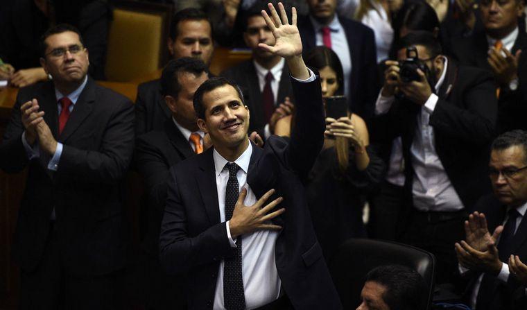 FOTO: Impidieron que Juan Guaidó ingrese a la Asamblea Nacional (Foto: Reuters)