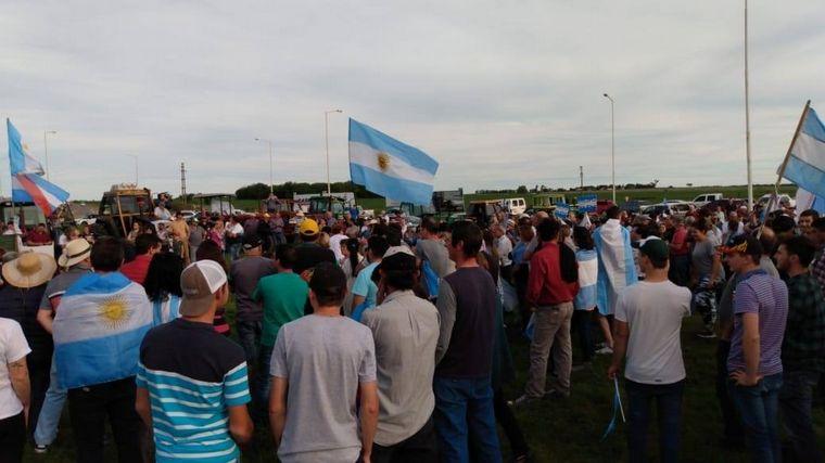 AUDIO: La marcha fue convocada por la Federación Agraria Argentina