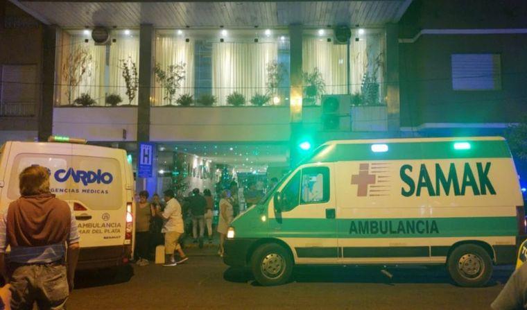 AUDIO: 30 internados por monóxido en un hotel de Mar del Plata (Por Micaela Rodríguez).