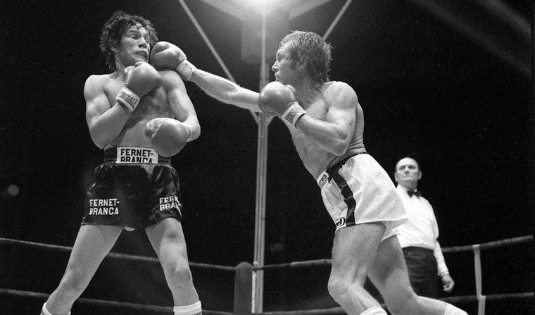 FOTO: Monzón fue campeón mundial de la categoría mediano entre los años 1970 y 1977.