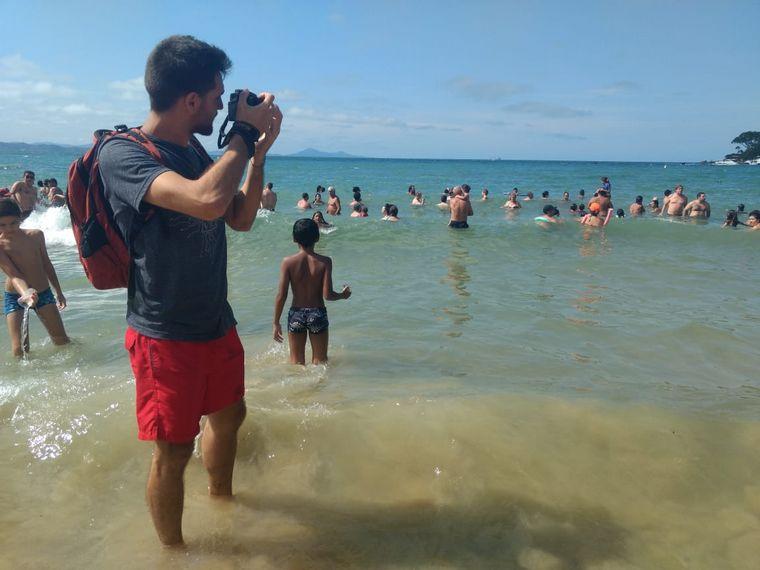 AUDIO: El cordobés que cumplió su sueño y vive en la playa (Por Yeny Ortega Benavides).