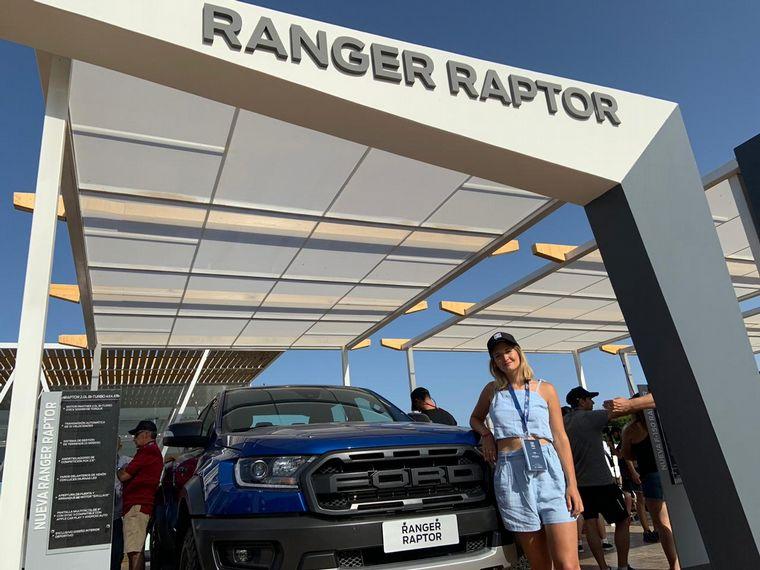 AUDIO: Ford presentó en Pinamar la F150 Raptor