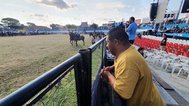 FOTO: Jesús María se prepara para la tercera noche del Festival
