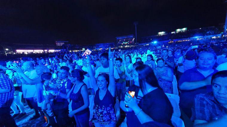 FOTO: Los Tekis recibieron la ovación de más de 15 mil personas.