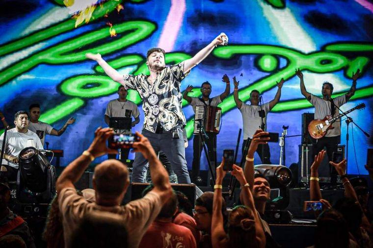 FOTO: Los Ammán hicieron gala de la mistura de folclore y rock nacional.