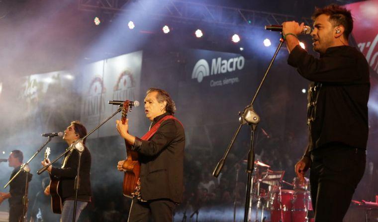 FOTO: Los Nocheros en la sexta noche del Festival de Jesús María.