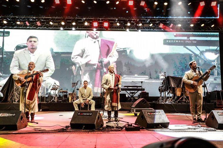 FOTO: Novena noche del Festival de Doma y Folclore.