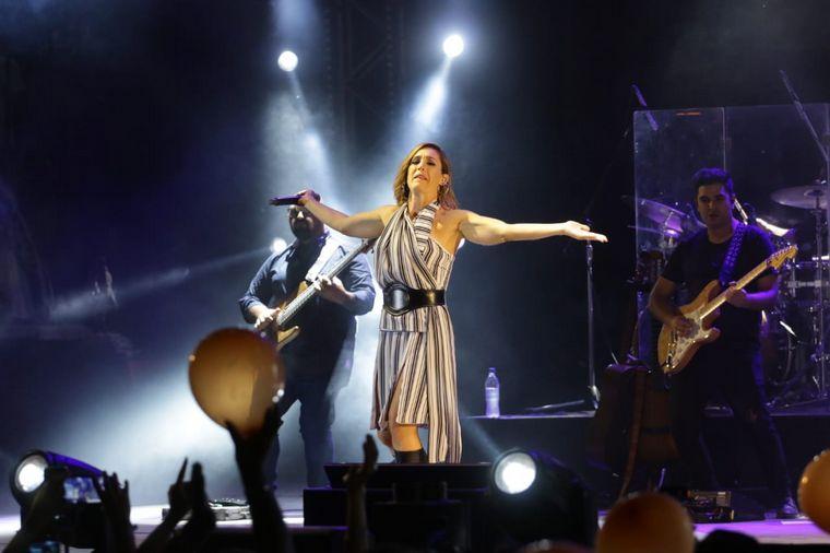 FOTO: Soledad Pastorutti, figura estelar de la novena noche de Jesús María