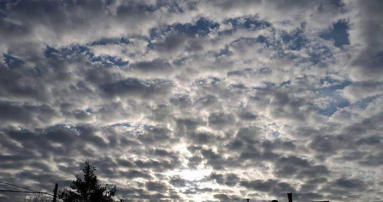 FOTO: CIelo nublado en Córdoba