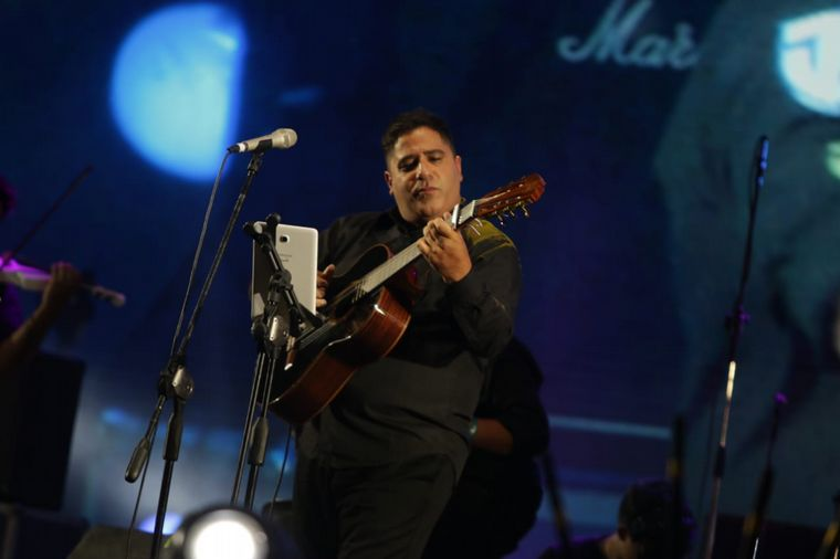 FOTO: Martín Paz abrió la última velada del festival