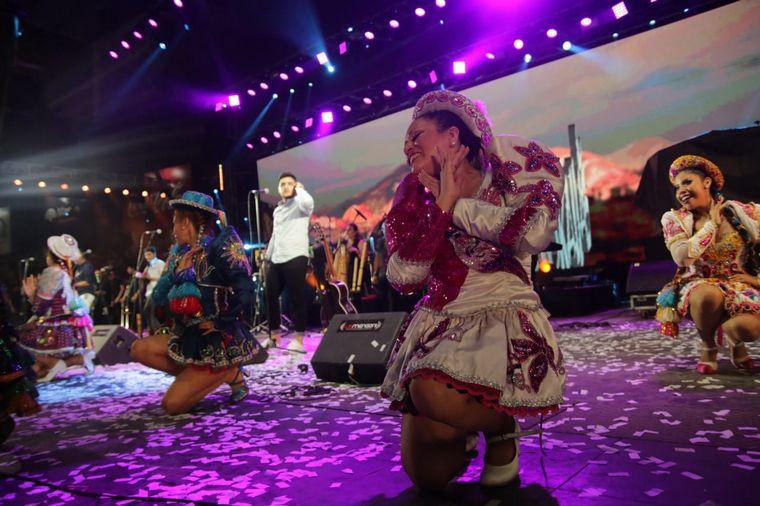 FOTO: LloKallal llevó el carnaval jujeño a Jesús María