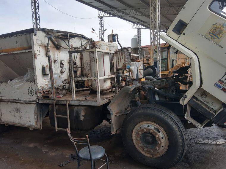 FOTO: Denuncian que maninaria municipal está en estado de abandono