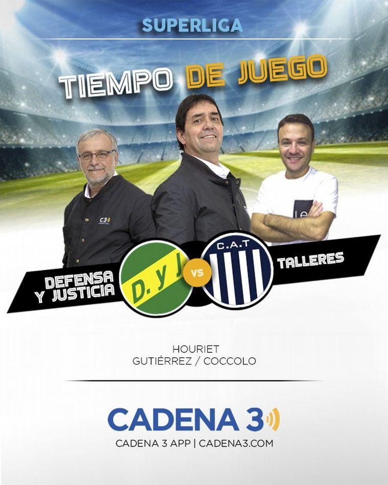Defensa y Justicia goleó a Talleres en Florencio Varela —